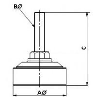 Установочные комплекты Ножки (опора) BSA/BFS